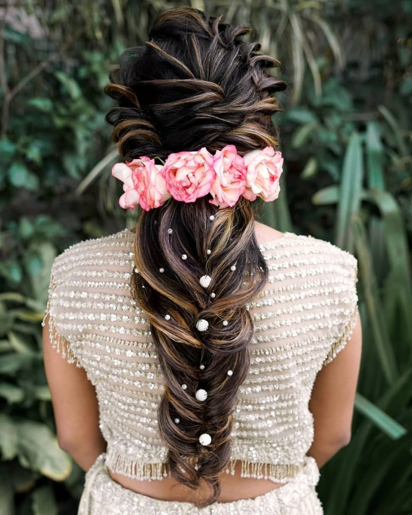 bridal hairstyle bataiye